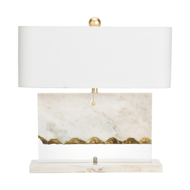Brentwood Marble & Gold Table Lamp