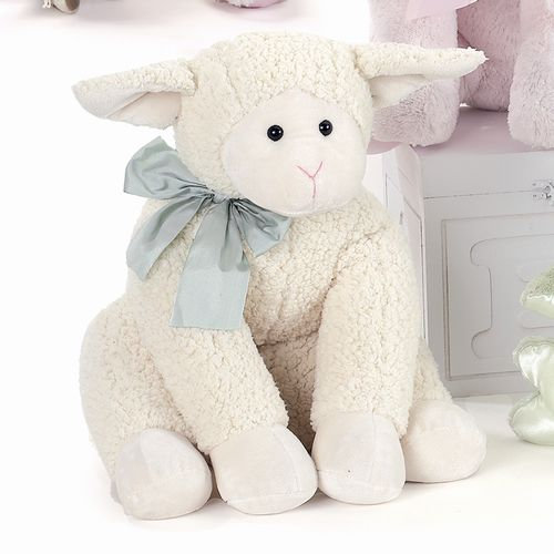 Bearington Baby Lamby Cuddly Baa
