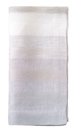 Gradient Stripe Linen Dinner Napkin (Set of 2)