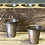 Sugar mold tin cups