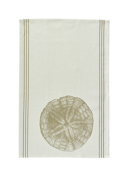 Sand Dollar Dish Towel (Set of 2)