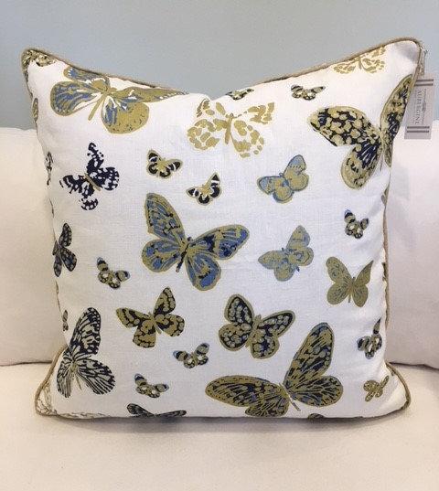 24x24 Kate Spade Butterfly