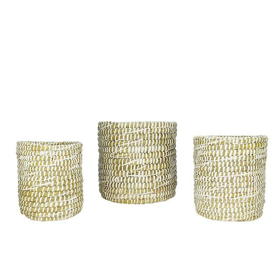 Rivergrass Mini Cylinder Baskets