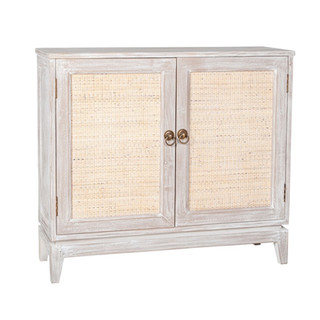 Stacey White-Washed Sideboard