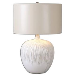 Georgios Round Ceramic Table Lamp