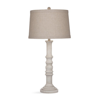 Augusta White Washed Table Lamp