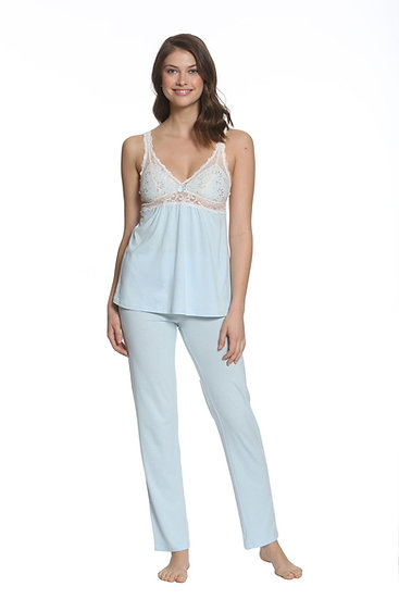 Pima Cotton Camisole Starlight Blue