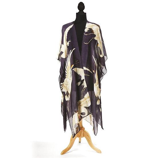 Lightweight Open-front Long Kimono