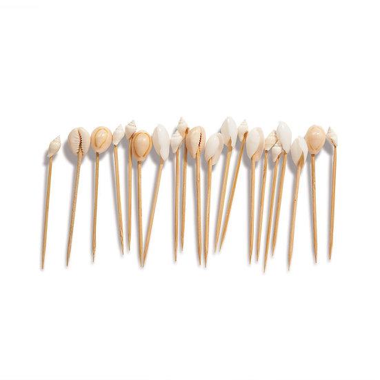 Seashell Hors D'Oeuvre Toothpicks