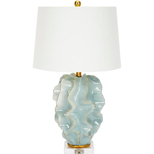 Hanna Aqua Wave Table Lamp