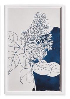 Watercolor Floral Sketch IV