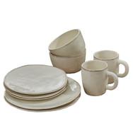 Villager Cream Dinnerware Set