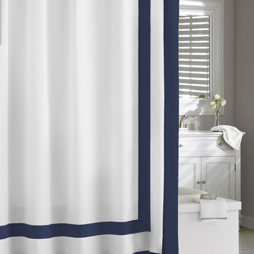 Edged Frame Shower Curtain