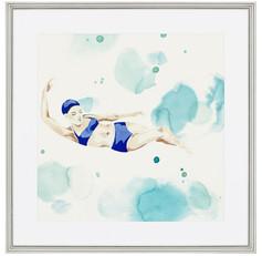 Poolside Blue Swimmer
