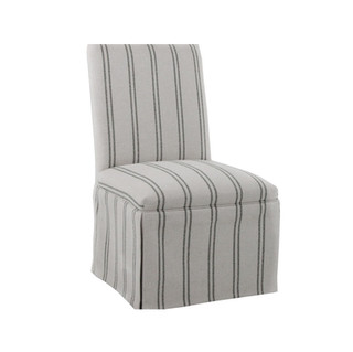 Skirted Parsons Dining Side Chair