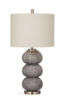 Jed Grey Faux Shagreen Sea Urchin Table Lamp