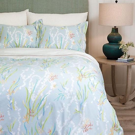 Home decor store ocean patterned duvet bedding