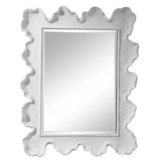 White Sea Coral Wall Mirror