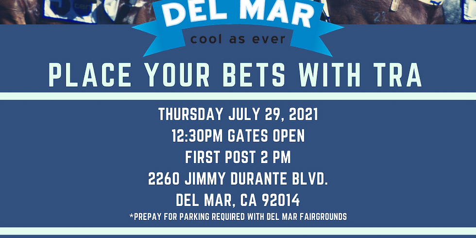 Del Mar Horse Racing Event with TRA