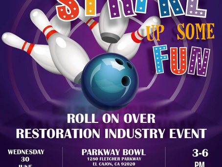 Let's go bowling with TRA!