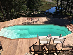 Relax in the Outdoor Hot Pool