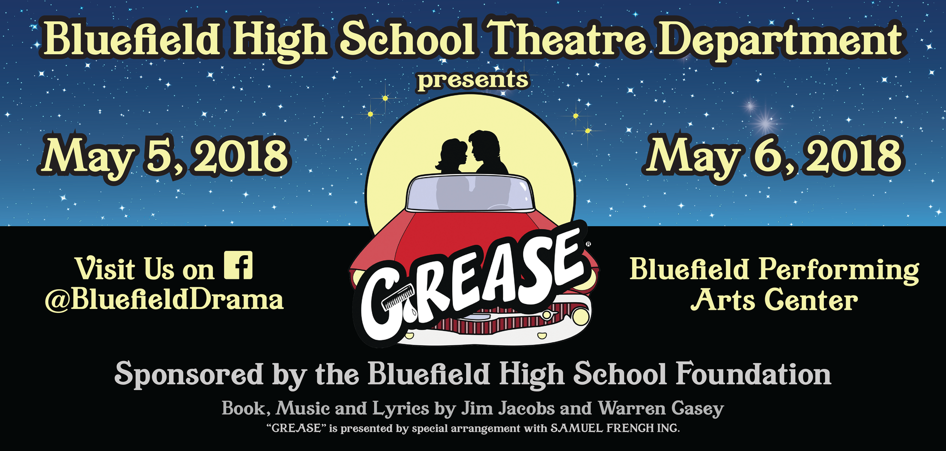2018 Grease - BHS Theatre Billboard-01.p