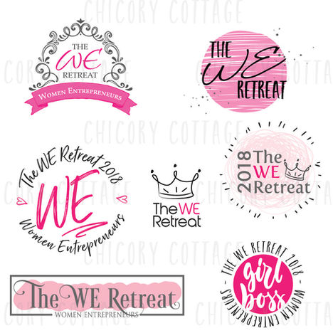 Hope Shortt - We Retreat Logo Concepts-0