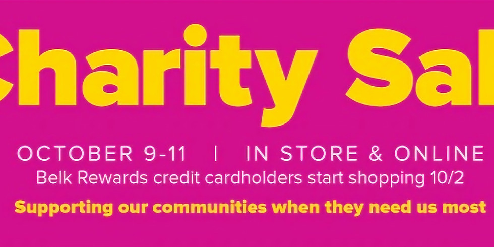 BELK Charity Event - In Store or Online