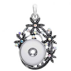 wholesale-rhinestone-snap-button-pendant