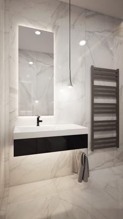Luxury elegáns mosdó