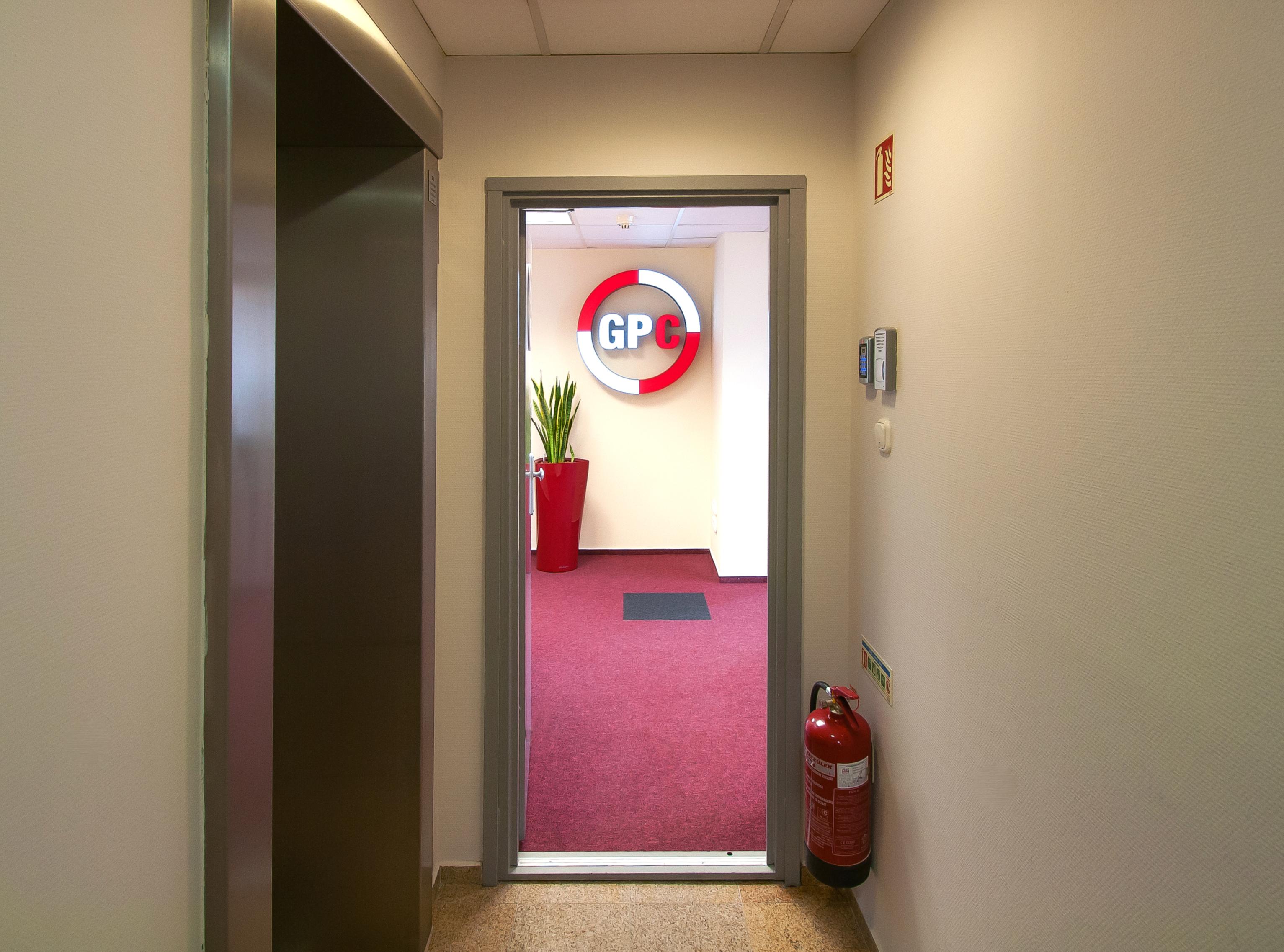 GPC bejárat