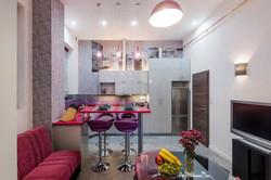 New York Airbnb Nappali Konyha