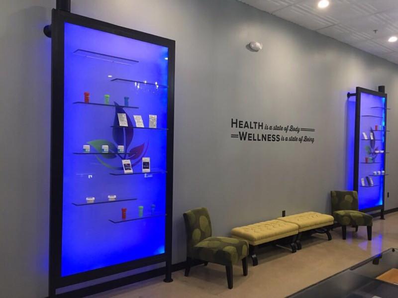 About Wellness Ohio Marijuana Dispensary in Lebanon Interior Show Room