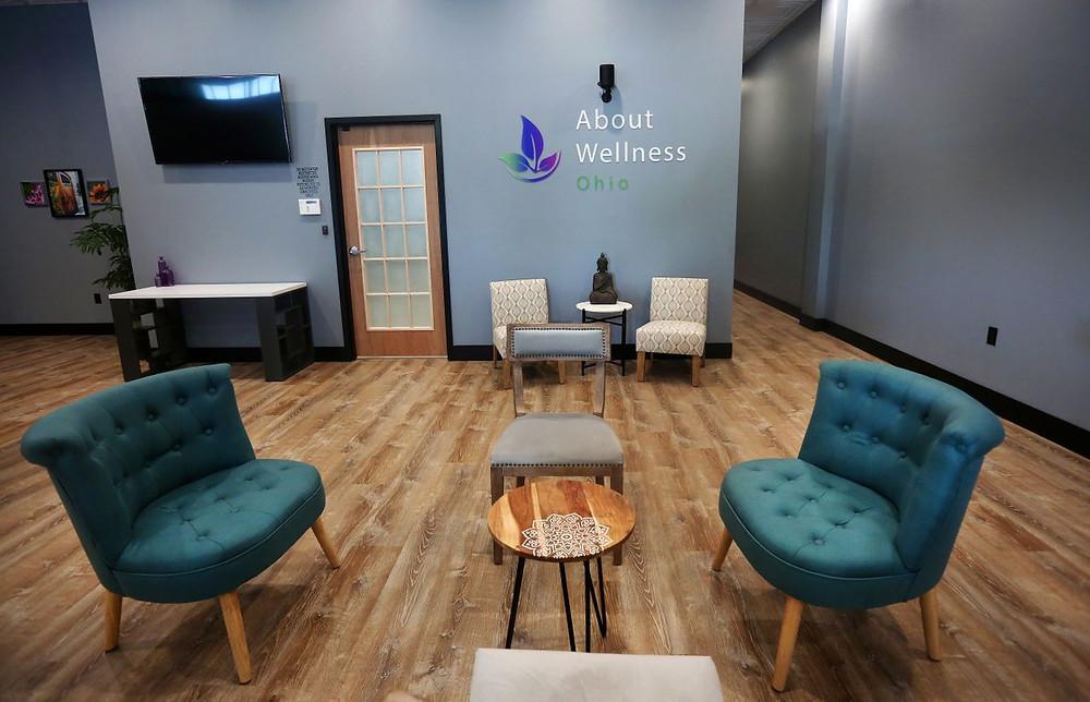 About Wellness Ohio Marijuana Dispensary in Lebanon Interior Waiting Room