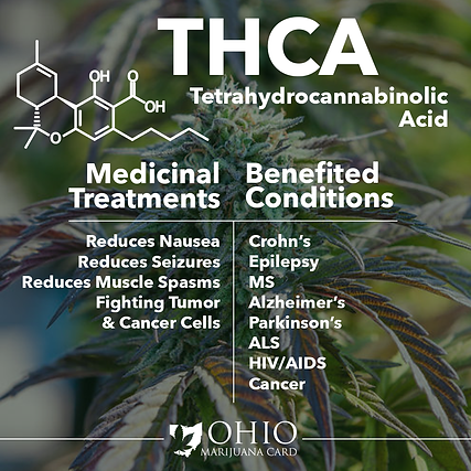 What is THCA? | Ohio Marijuana Card