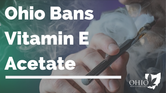 Ohio Bans Vitamin E Acetate