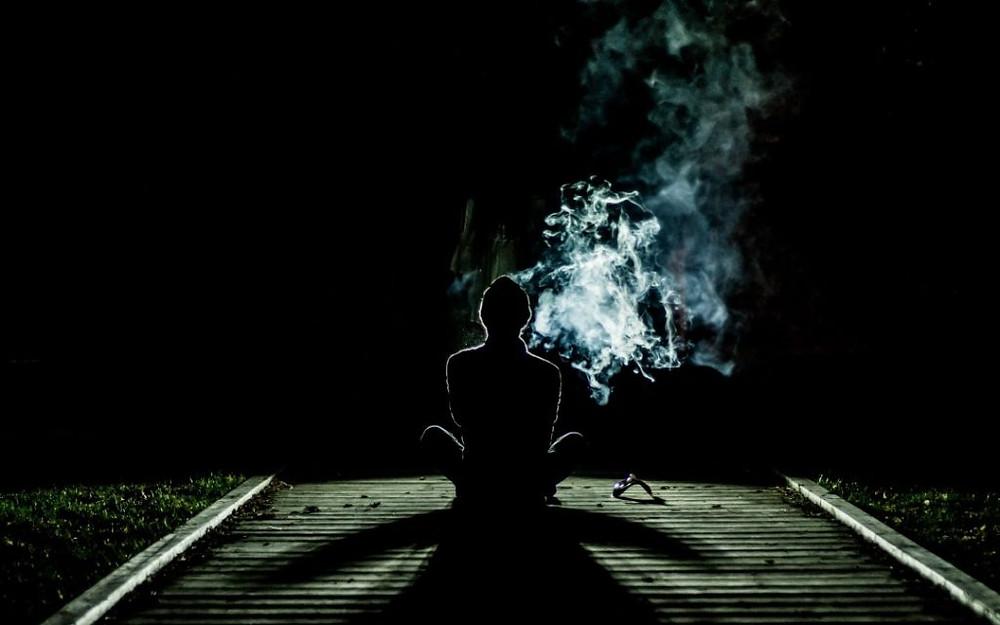 Smoking Cannabis While Meditating