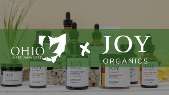 Ohio Marijuana Card Partners with CBD Brand Joy Organics