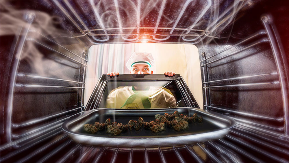 Decarboxylating Cannabis in Oven