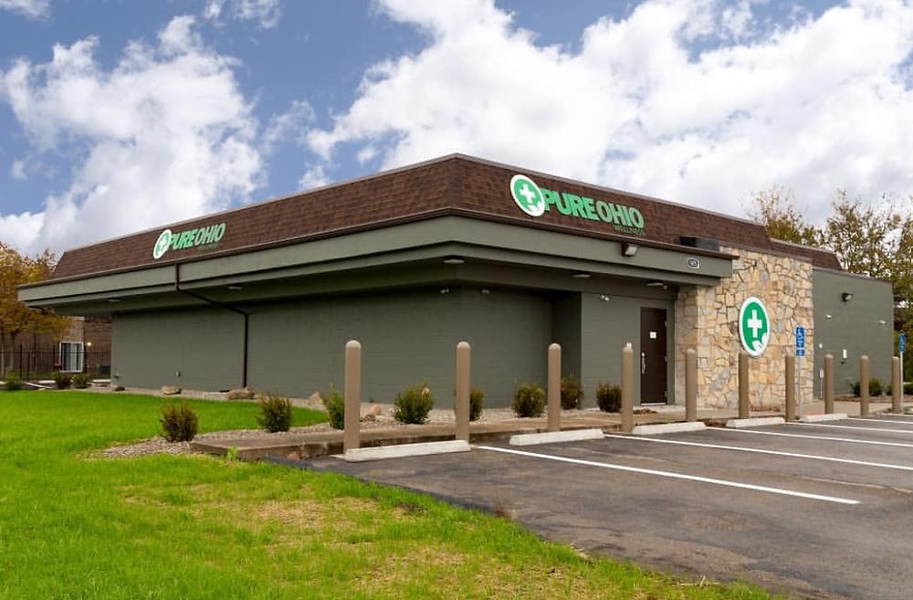 Pure Ohio Wellness - Dayton Dispensary Exterior