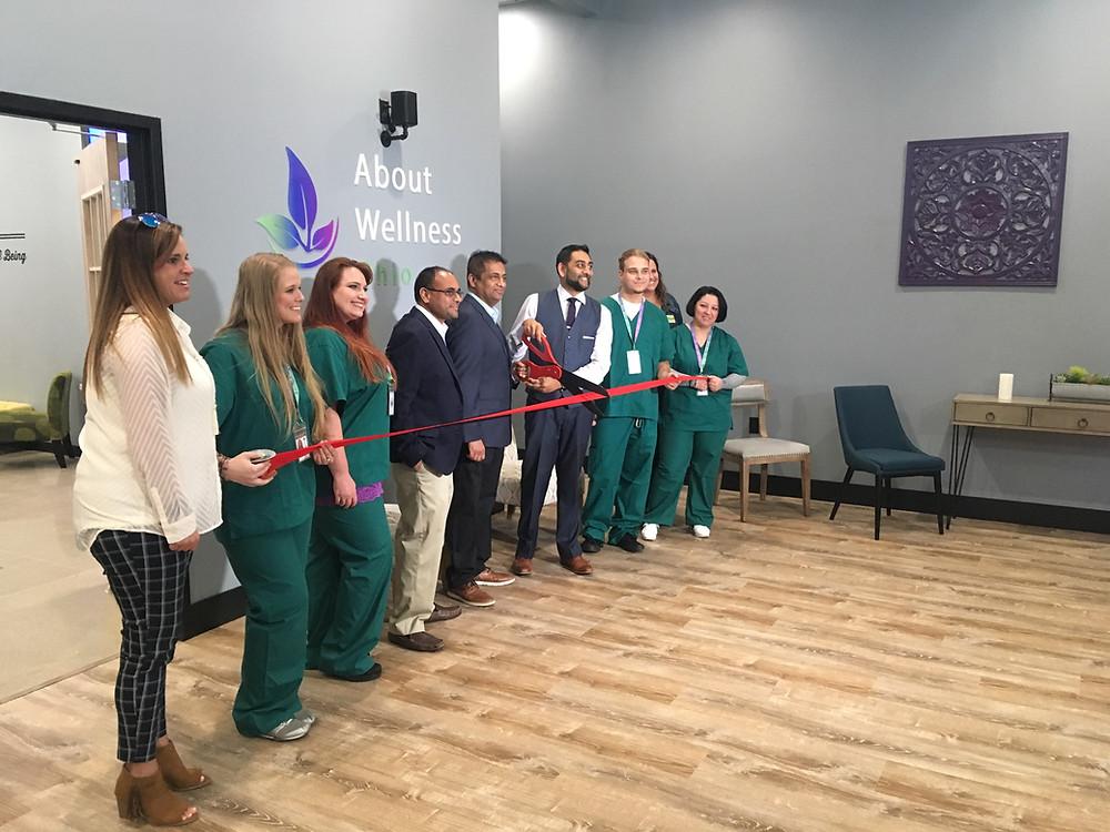 About Wellness Ohio Marijuana Dispensary in Lebanon at Ceremonial Ribbon Cutting