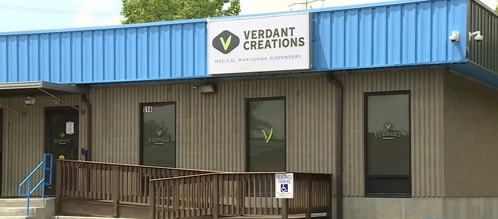 Verdant Creations Dispensary in Cincinnati - Exterior of Building