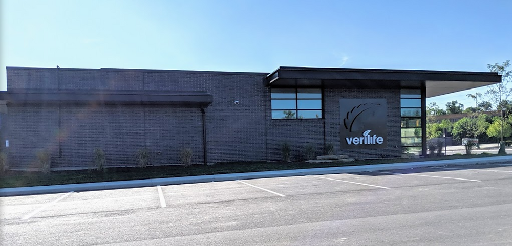 Verilife Dispensary in Cincinnati - Exterior of Building