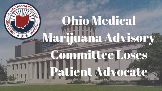 Patient Advocate Removed from Ohio Medical Marijuana Advisory Committee