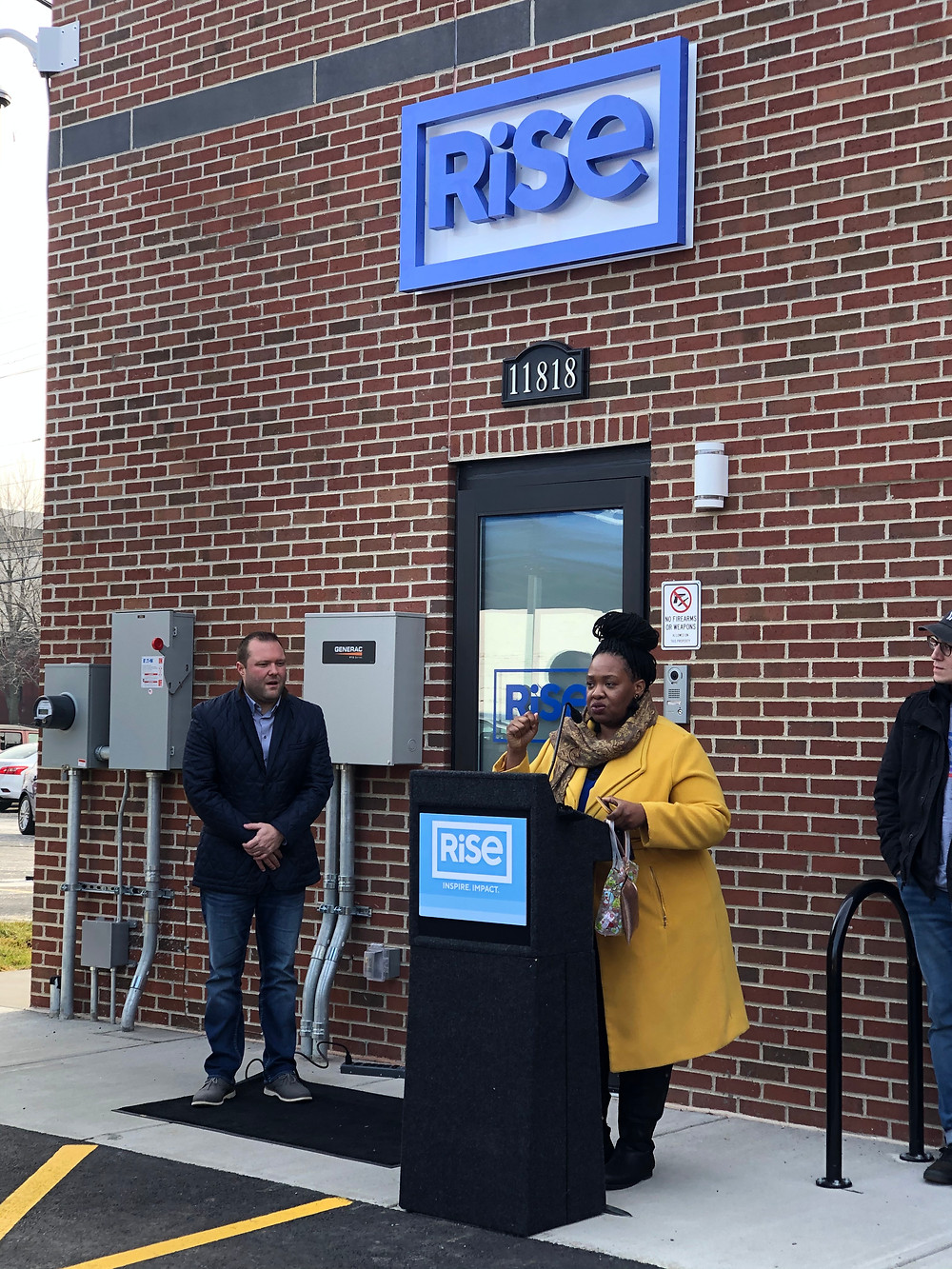 State Rep. Juanita Brent discusses RiSE dispensary in Lakewood