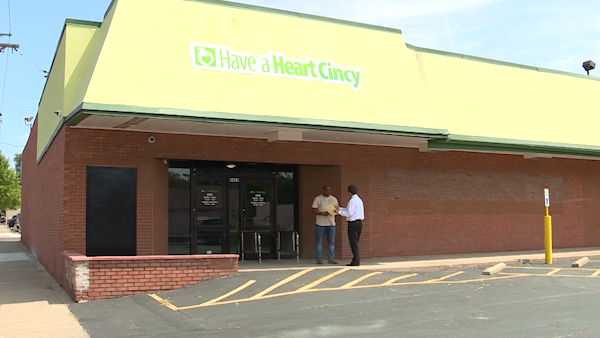 Have A Heart Cincy Exterior of Dispensary