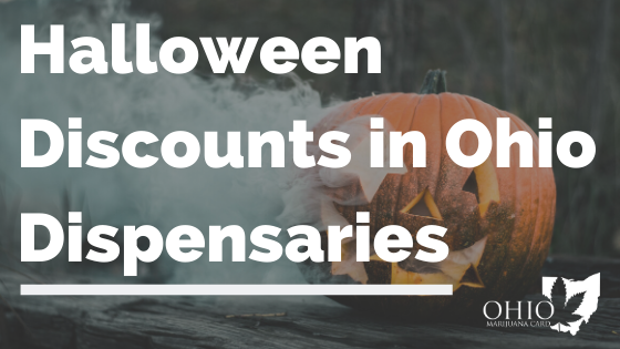 Halloween Discounts in Ohio Dispensaries