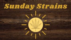 image of a sunshine with a marijuana leaf on the inside