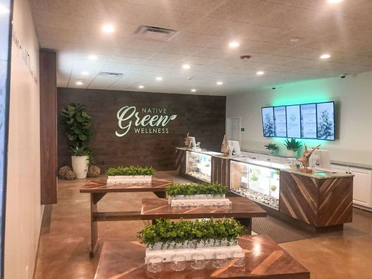 Native Green Wellness Dispensary in Hens