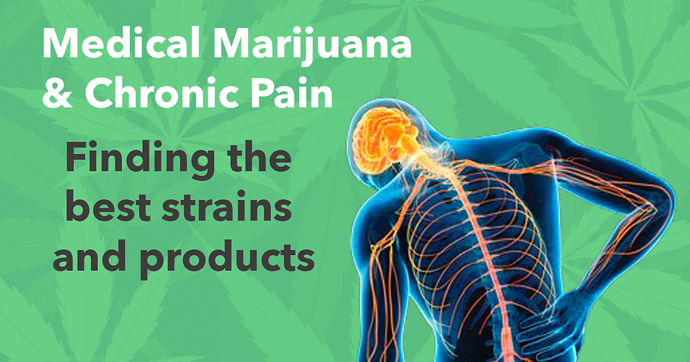 Medical Marijuana & Chronic Pain: Finding the best strains and products